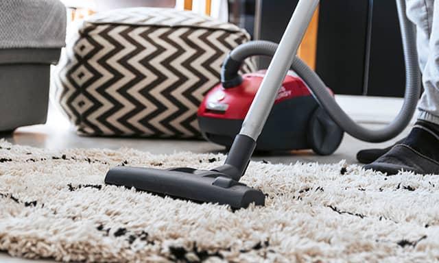 szőnyegtakarítás porszívózás