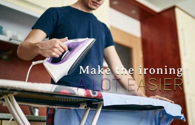 10 hacks for easier ironing