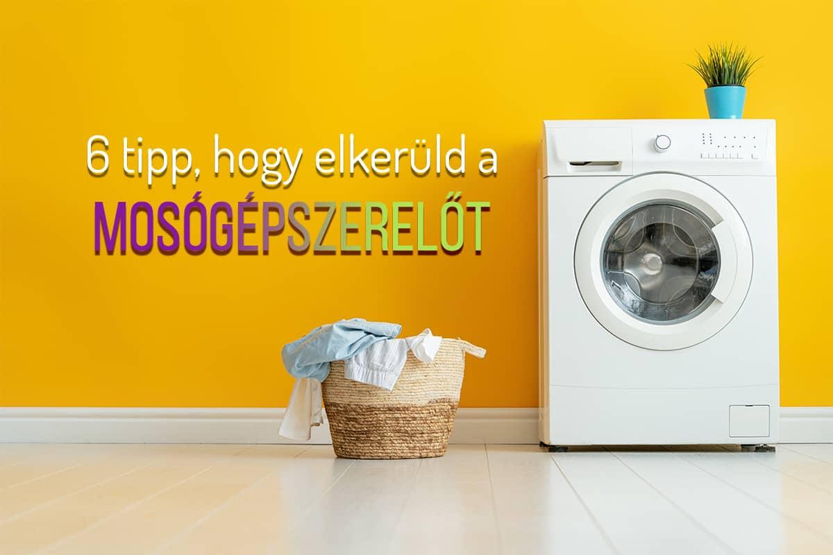Így tisztítsd a mosógépet vegyszermentesen