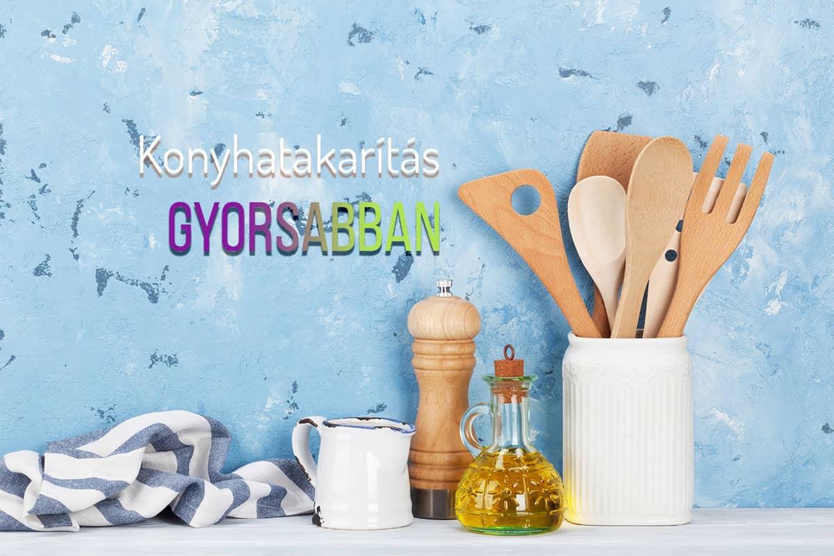 6 takarítási tipp a konyhába, amelyekkel időt spórolhatunk
